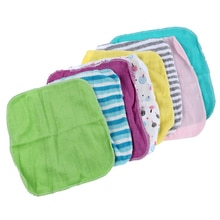 Neue Baby Gesicht Scheiben Hand Handtücher Baumwolle Wischen Waschen Tuch 8 teile/paket