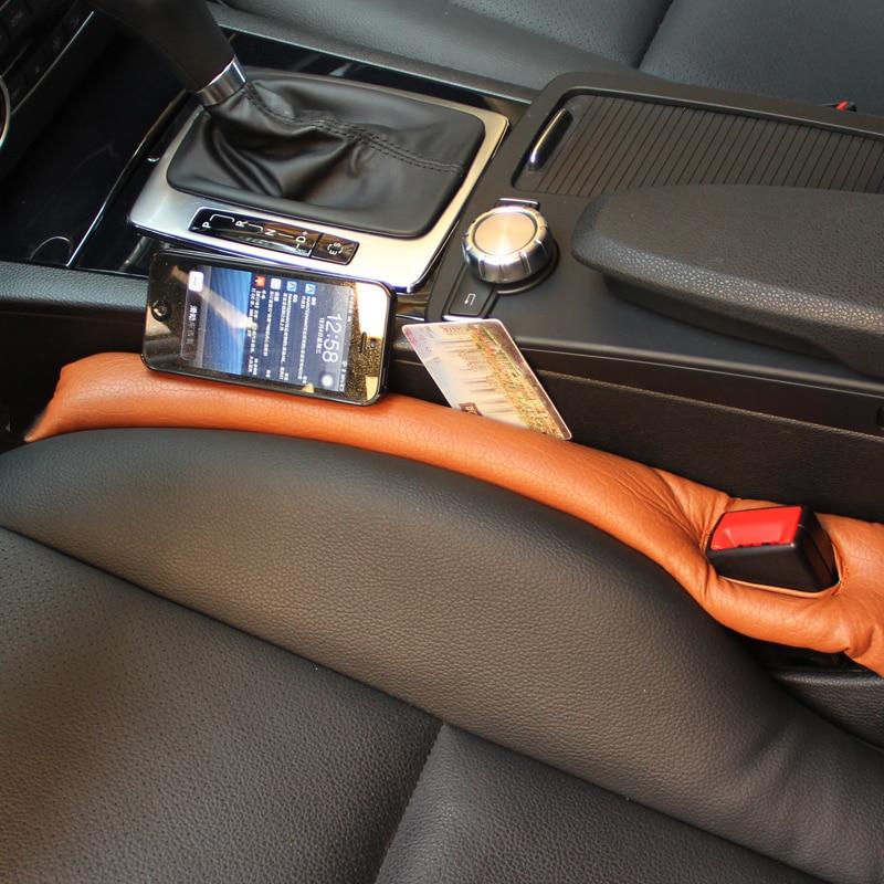 For Kia Sportage QL 2016 2017 2018 2019 Car Seat Gap Filler Car Stopper Leak Proof Stop Pad Filler Spacer Car Accessories