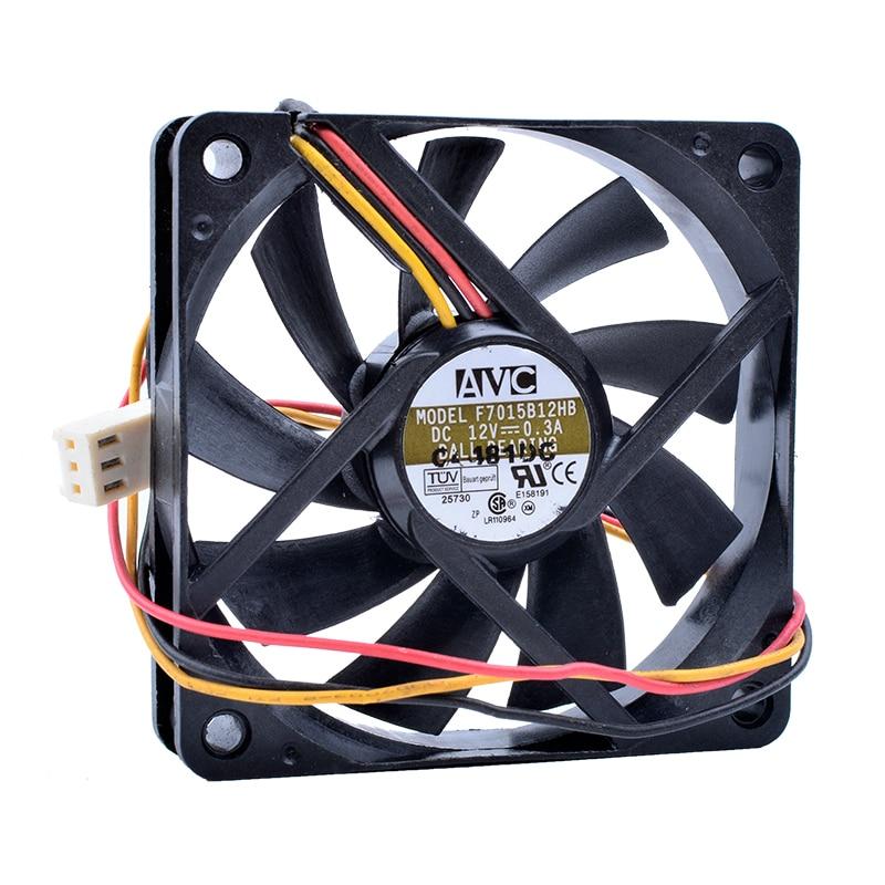 Революция в системах охлаждения F7015B12HB DC 12 В 0.3A 7 см 7015 70 мм вентилятор компьютера CPU охлаждающий вентилятор
