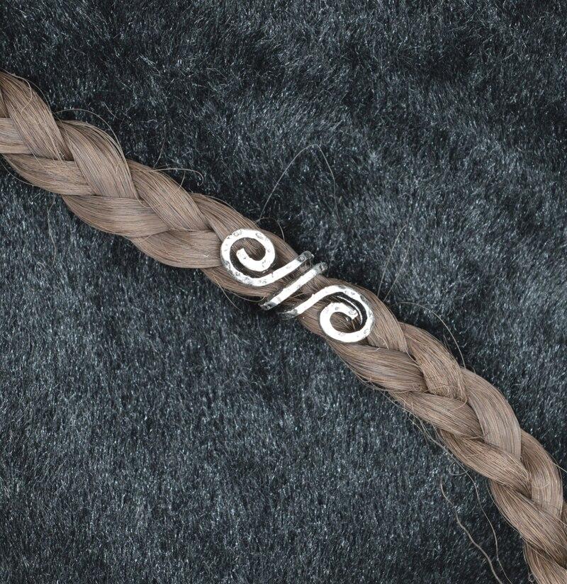 1 шт. высококачественные бусины для волос в стиле викингов плетения бороды C51 beads