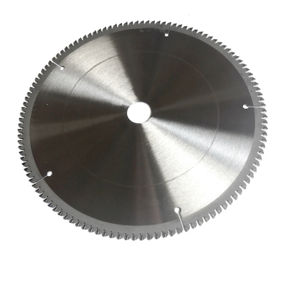 Free shipping Professional quality 254*25.4*2.8*100T/120T TCG teeth form TCT saw blade NF metals aluminum copper cutting blades