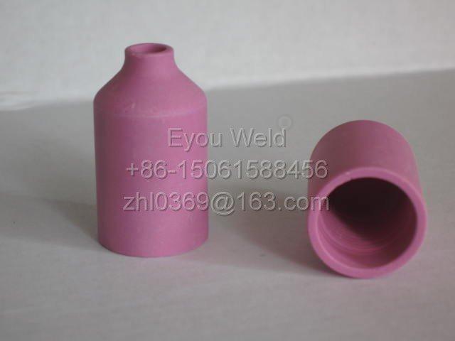 10 шт. 54N18 4 # сопло для сварочной горелки WP17 WP18 WP26-глинозема керамические расходные материалы для дуговой сварки WP-17 WP-18 WP-26