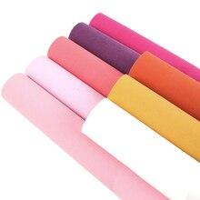 Accesorios David 20*34cm tela de terciopelo de Color sólido Patchwork para bolsas de nudo de arco DIY proyectos Scrapbook, 1Yc5557
