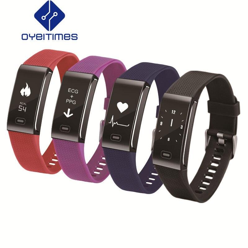 OYEITIMES CK18, rastreador deportivo de Fitness, pulsera inteligente, nueva banda inteligente, rastreador de sueño, reloj despertador, rastreador de actividad, deporte para hombres