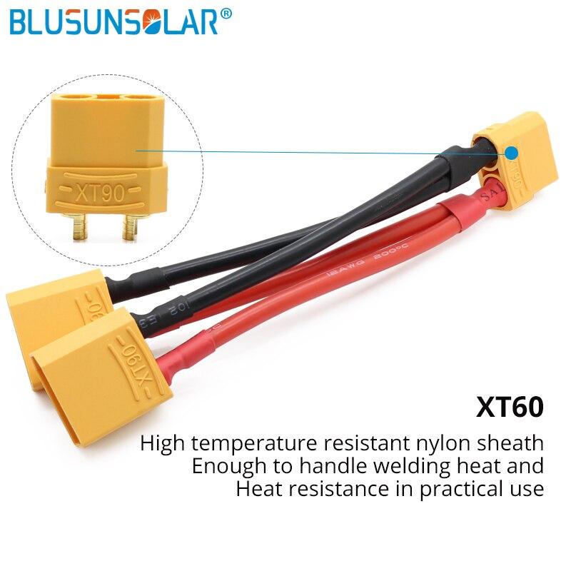 100 قطعة/الوحدة XT90 مواز البطارية موصلات محول كابل تمديد Y الفاصل ل مواز البطارية اتصال ZD0192