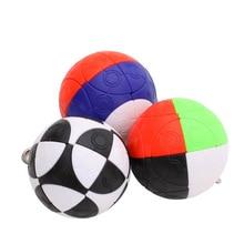 Mini Ball KeyChain Cube 50 g Mini Twist Magic Cube  Toys Gift Smart Key Ring Learning Toys for Children