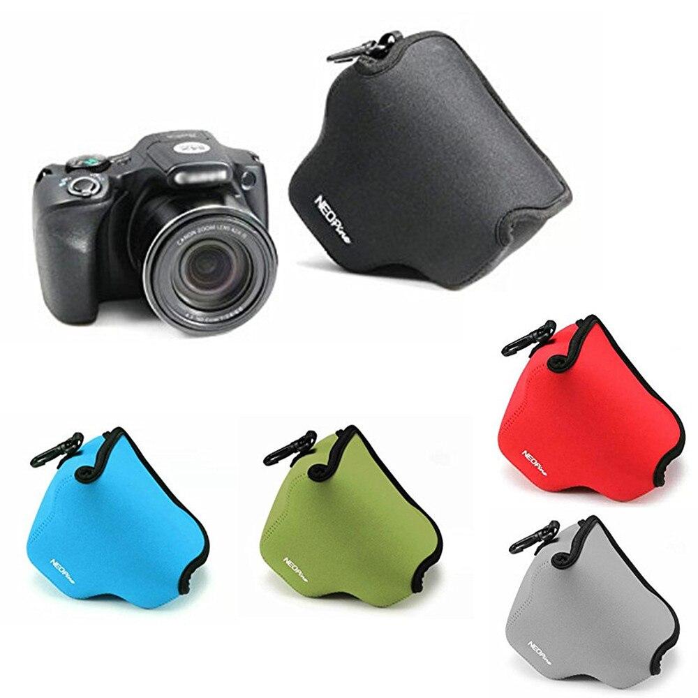 LimitX neopreno suave impermeable cámara interior bolsa cubierta para Canon Powershot SX540 HS SX530 HS SX520 HS cámara Digital