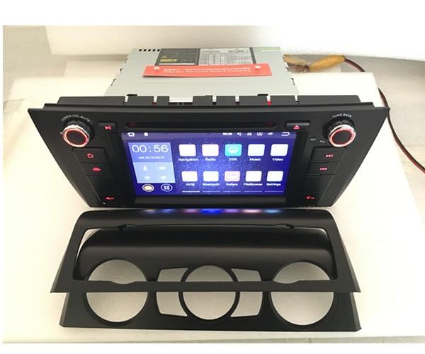 Coche radio DVD E87 E81 E82 E88 android multimidia 3G4G wifi forB MW RDS Radio navegación GPS de Audio estéreo de coche Pc Central