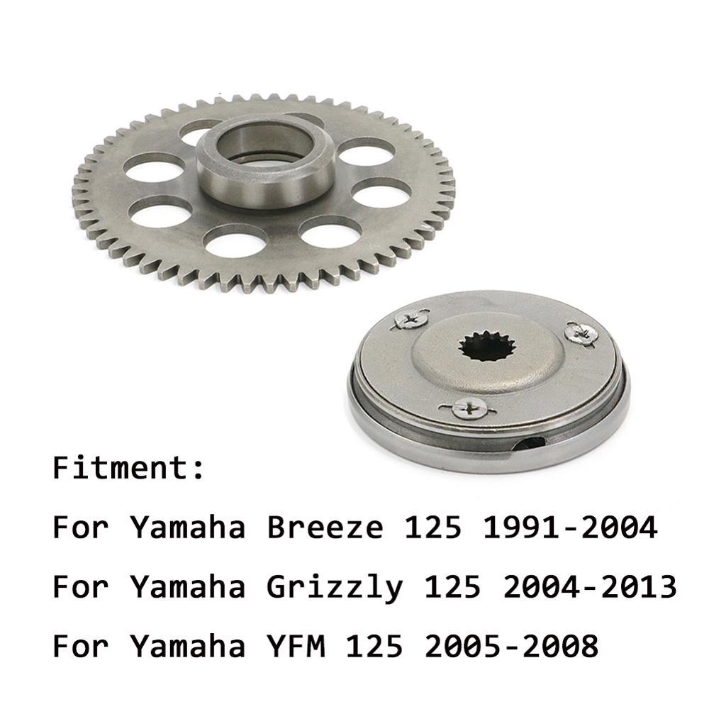 Una forma de embrague de arranque de Sprag engranaje impulsado Kit para Yamaha YFM 125 YFM 125 2005-2008 Breeze 125 1991-2004 Grizzly 125, 2004-2013