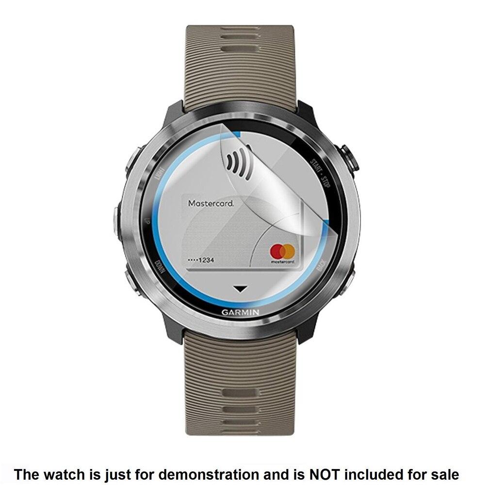 3x Clear LCD Anti-Scratch Screen Protector Guard Cover Shield Film Skin for Garmin Forerunner 645 FR645 Accessories