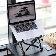 Bureau dordinateur Portable réglable Table pour ordinateur Portable support de bureau ergonomique Portable plateau de bureau plateau de Table PC