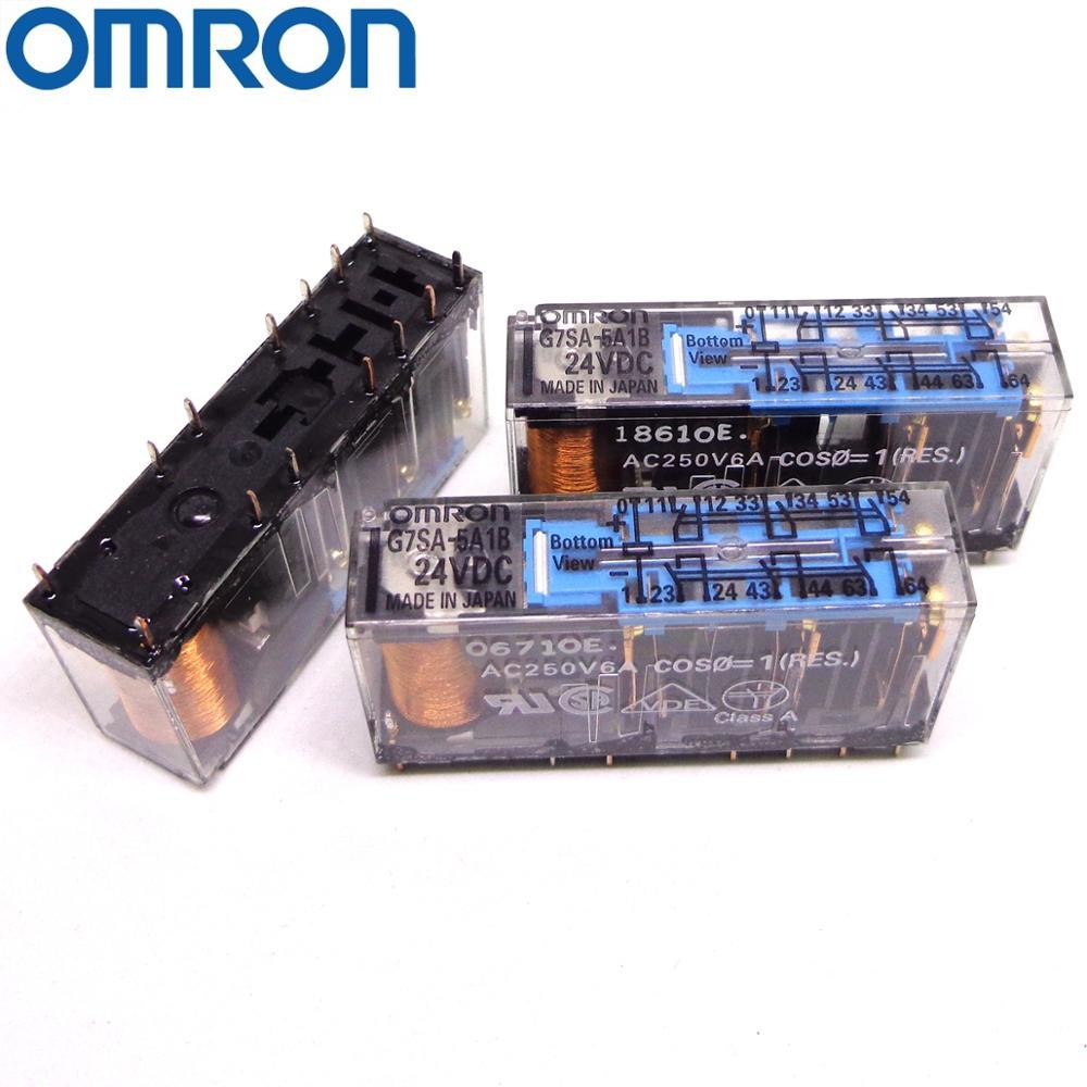 OMRON التتابع G7SA-5A1B 24VDC العلامة التجارية الجديدة والأصلية