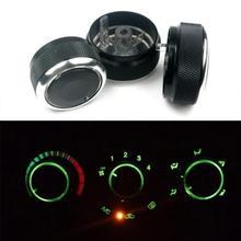 Kno, bouton de commande de la chaleur   Pour Chevrolet Lova AVEO 2006 à 2014, climatisation de la voiture, alliage daluminium