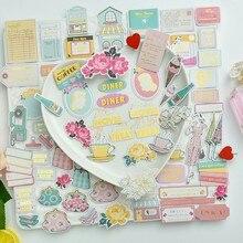حقائب جميلة من KSCRAFT مكونة من 70 قطعة بنمط قطع البطاقات لتخطيط القصاصات/عمل البطاقات/مشروع عمل الجدولة