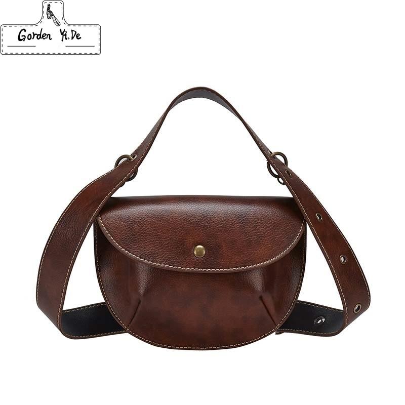 Женский кожаный ремень, сумка на талию, роскошный брендовый коричневый, новинка 2019