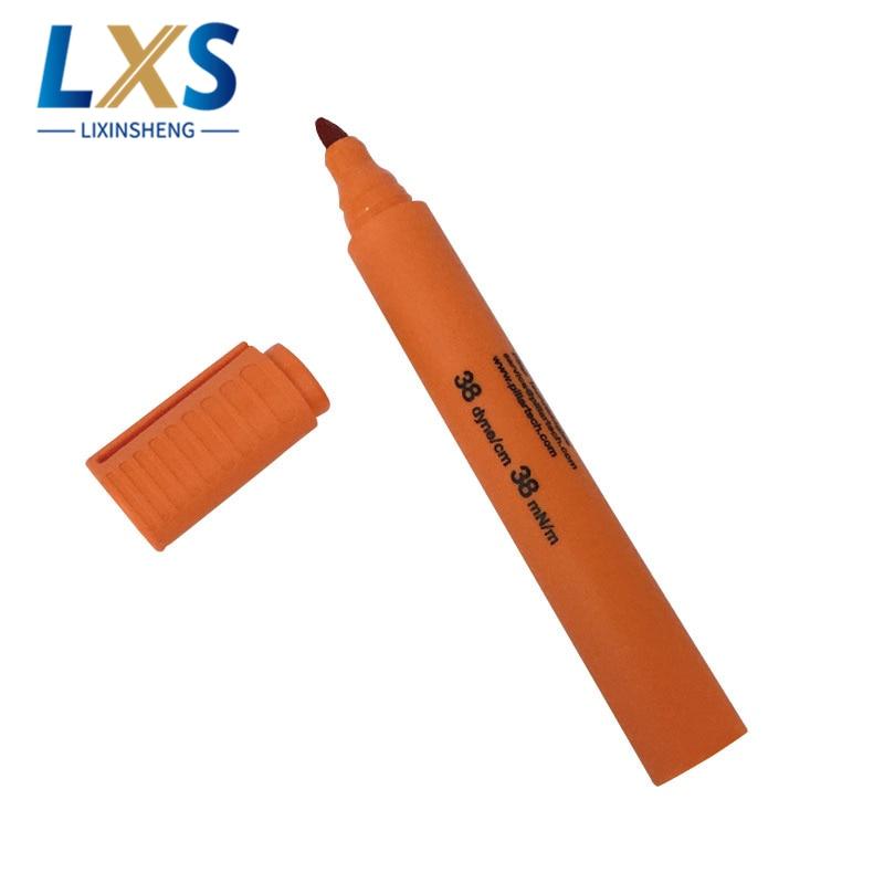 5 unids/lote UK pluma de prueba de Tom Dyne 38 40 42 44 dyne/cm para película de PVC/PE
