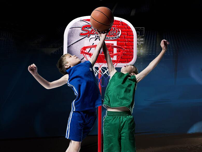 2021 Children's outdoor or household hardcore basketball board drop shot box child boy toy A,B,C,D Style