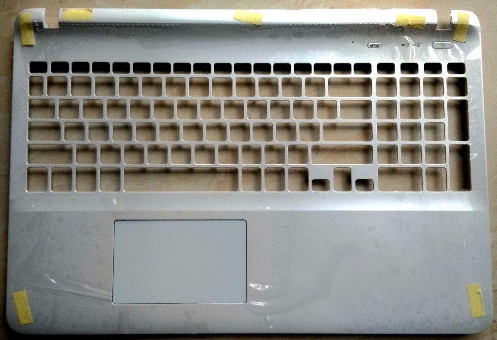 Nuevo para SONY Vaio Fit SVF152 SVF152C26L SVF15218CXW svf15215CDW palmrest UK laptop teclado funda Superior C cubierta blanca touchpad