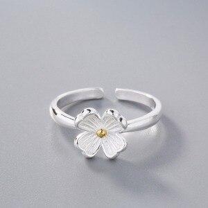 Украшения CHENGXUN 2020 г., модные элегантные кольца с цветами для женщин и девушек, серебристые и золотистые кольца с цветами на хвосте