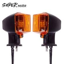 Indicateur de retournements de virage moto KAWASAKI   1 paire, lampe frontale pour moto ZXR250 ZXR400 ZXR750 ZXR KLE 250/400/500