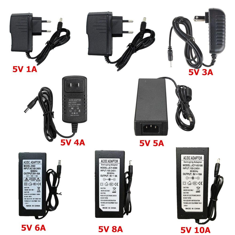 5 V 24 V 12 V Aydınlatma Trafo AC 110 V 220 V için 12 V Güç Kaynağı 1A 2A 3A 5A 6A 8A 10A LED Sürücü 10 W 60 W 100 W 120 W Trafo