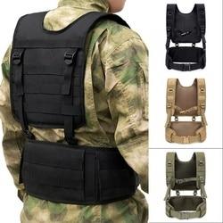 Militärische Taktische Weste Brust Rig MOLLE Kampf Taille Gürtel Männer Armee Cummerbunds Airsoft Paintball Ausrüstung Outdoor Jagd Weste