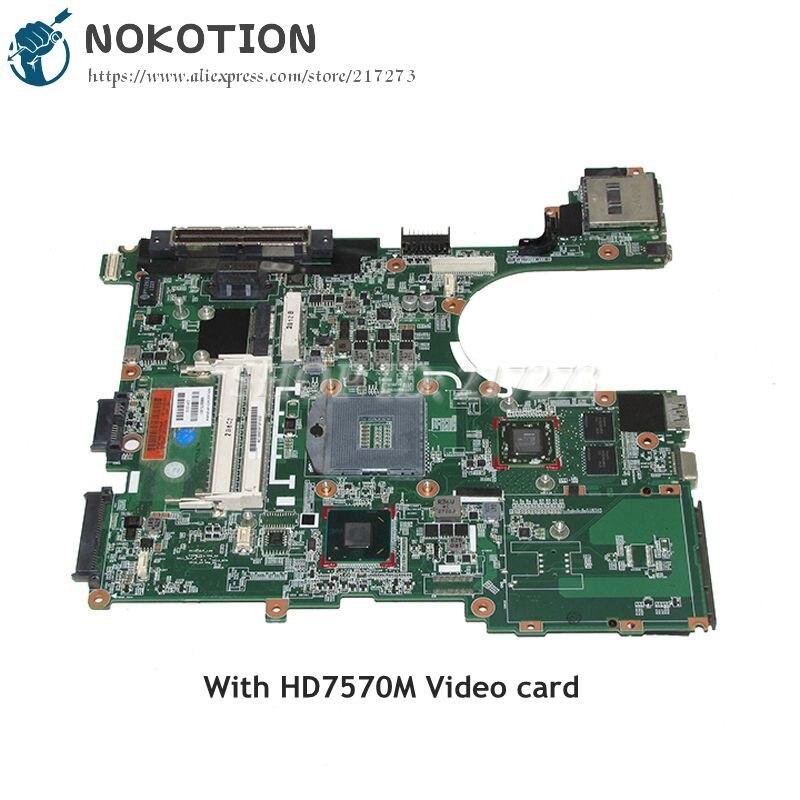 NOKOTION 686975-001 материнская плата для ноутбука HP Elitebook 6570B 8570P основная плата HM76 DDR3 HD7570M видеокарта