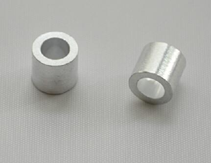 Wkooa 1.2mm mangas de alumínio de aço inoxidável fio corda friso