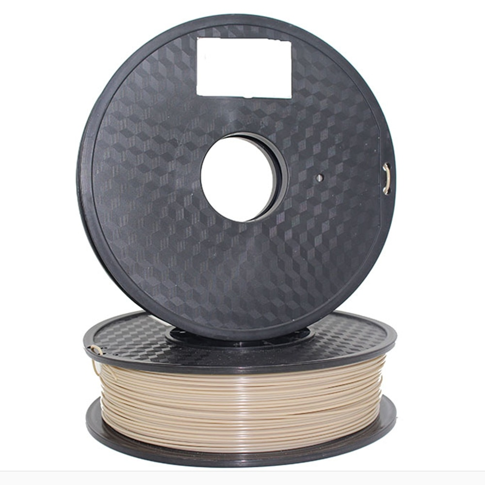 FLEXBED نظرة خاطفة 3D طابعة خيوط ، 1.75 ملليمتر 3D خيوط مناسبة للطباعة ، الحرارة مقاومة خيوط ، قوي ، اللون الطبيعي ، 1 كيلوجرام بكرة