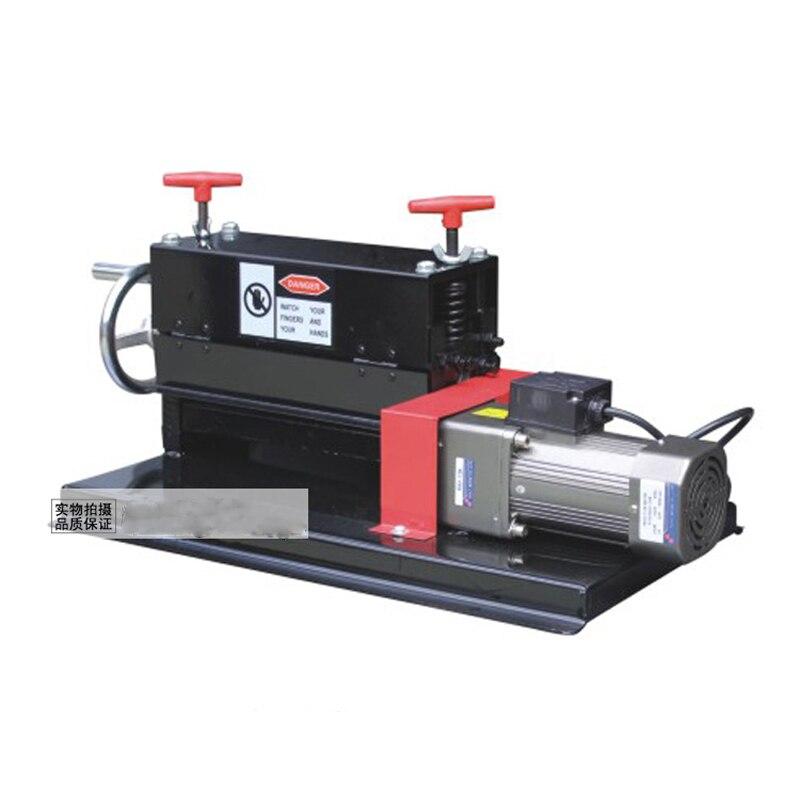 Peladora de B801-3 porosa, peladora de cables de desecho y pelado de alambre eléctrica de doble uso manual, 1 unidad