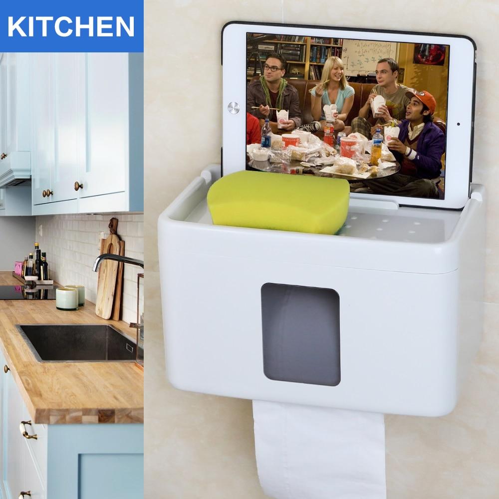 Инновационный многофункциональный держатель для кухонной бумаги, держатель для туалетной бумаги, держатель для салфеток для ipad, сумка для ...