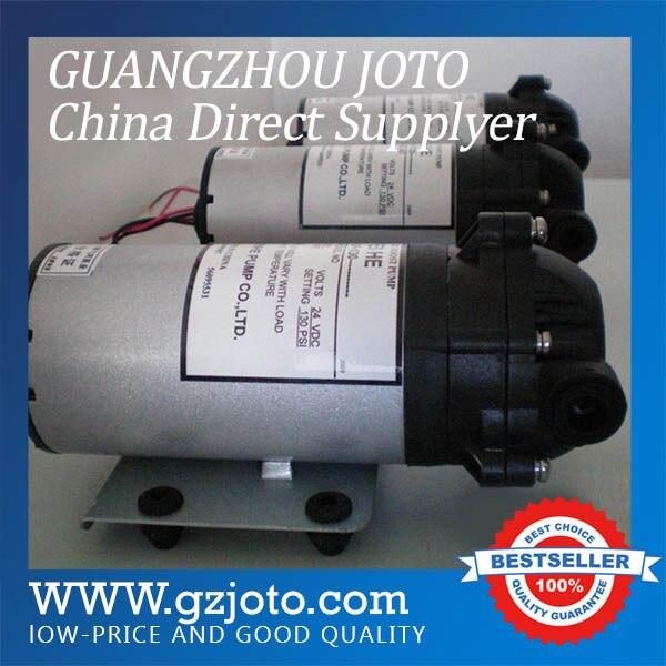 Bomba de agua limpia de diafragma eléctrica de succión automática de plástico de potencia de 24V de DP-125 CC