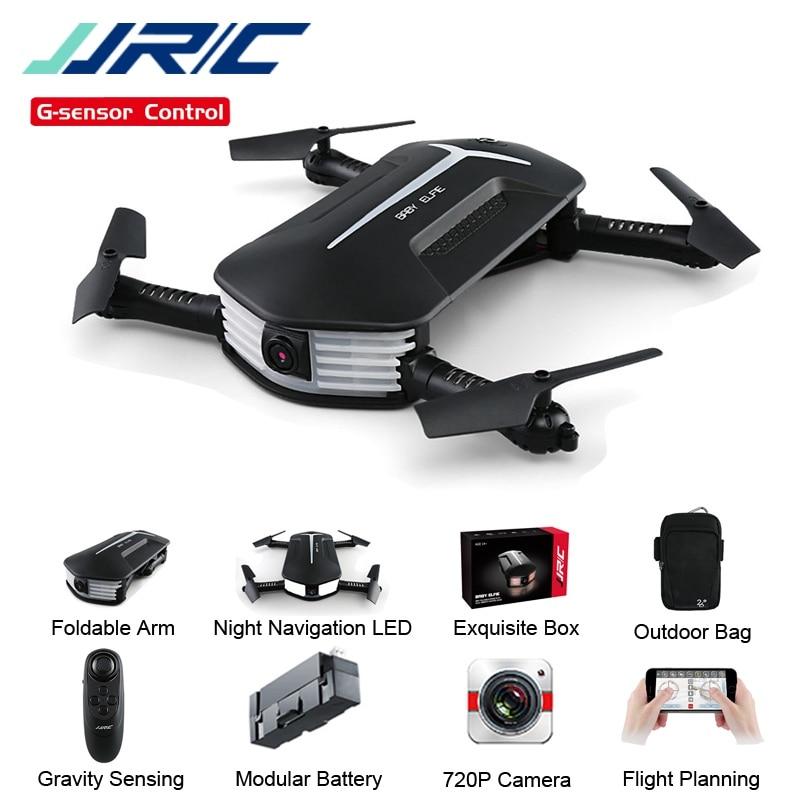 JJRC JJR/C H37 سيلفي ايلفي المصغرة للطفل 720P واي فاي FPV مع عقد مرتفع وضع بدون رأس طوي RC بدون طيار كوادكوبتر RTF