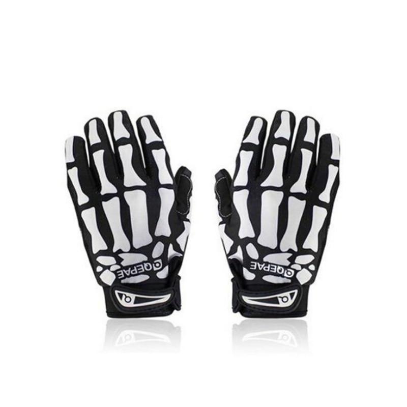 Cycling Sport Racing Bicycle Motorcycle Ghost Skeleton Skull Bone Gloves Fitness Women Men's Sportswear Bicycle Accessories