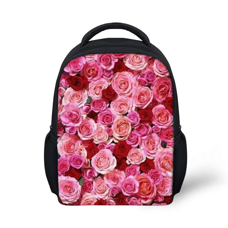 THIKIN, arcoíris, rosa, Linda mochila escolar para niñas, Mochia, pequeñas bolsas escolares para niños, mochila duradera para estudiantes, mochila infantil, bolsas de libros para niños