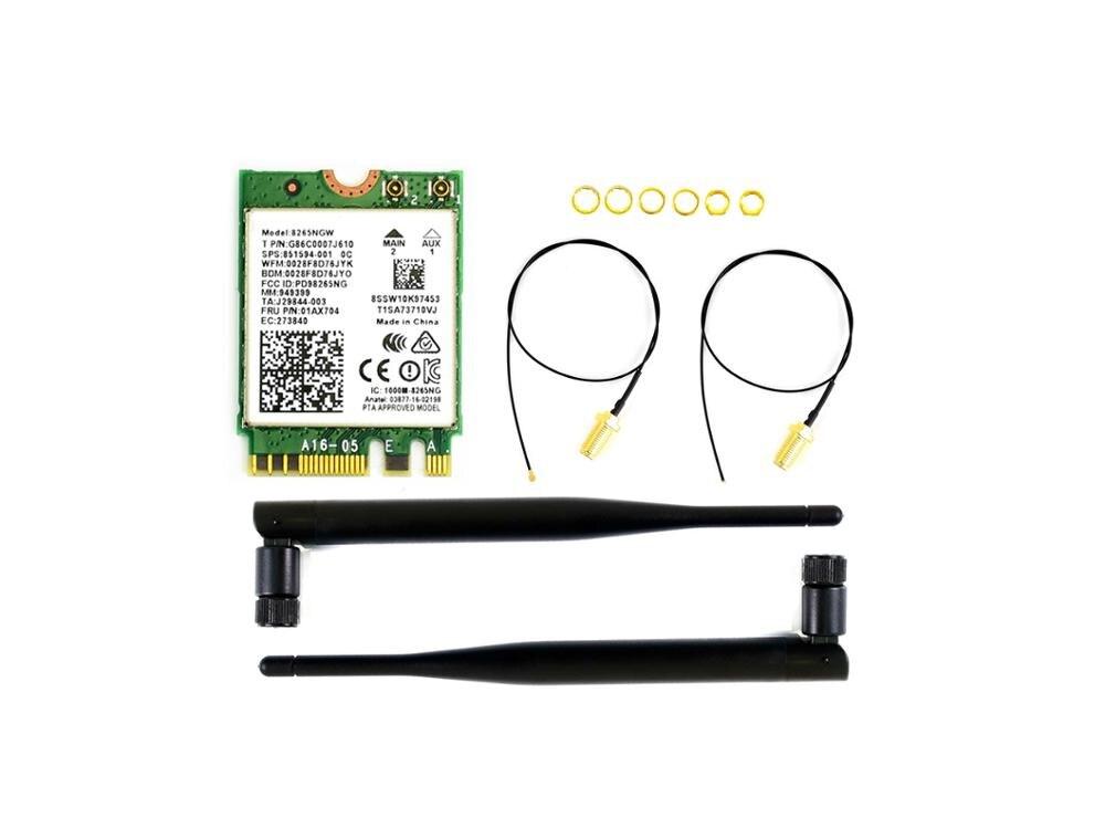 AC8265 Wireless NIC für Jetson Nano 2,4G/5G WiFi/Bluetooth 4,2 Unterstützung Linux, windows 10/8. 1/8/7