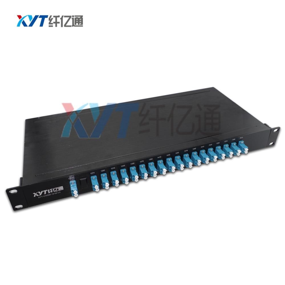 China Quality Supplier Dual fiber (2 input 32 output) 1U Rack 16ch CWDM Mux DEMUX