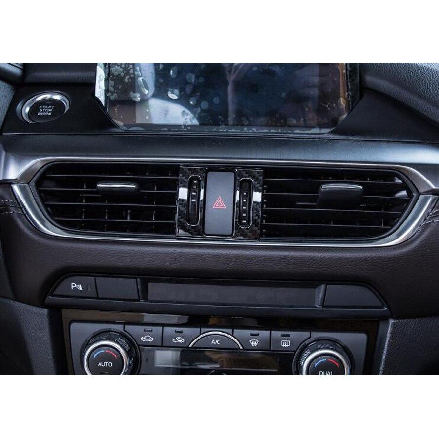Автомобильный светильник из углеродного волокна для Mazda 6 Atenza 2017, 2018
