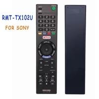 new rmt tx102u remote control for sony led lcd smart tv rmttx102u with netflix kdl 48w650d kdl 32w600d controle fernbedienung