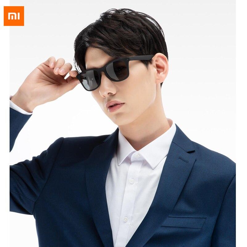 Xiaomi Mijia Youpin TS traveler Sunglasses TAC Polarized lens Sunglasses TR90 material frame for man and woman fashion
