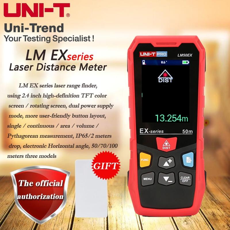 Colorida de Giro – à Prova Uni-t Tela Profissional Nível Laser Range Finder Poeira Dip65 Água Ip65 Lm50ex – Lm70ex Lm100ex
