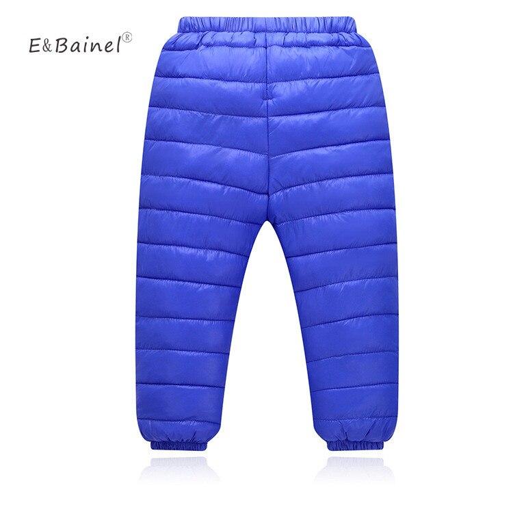 Outono inverno crianças calça quente leggings meninas calças meninos meninas para baixo calças crianças cintura elástica calças grossas roupas