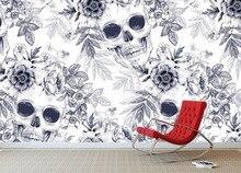 [Autoadhesivo] textura de cráneo 3D 006 papel de pared mural Impresión de pared pegatinas para Murales y Paredes