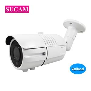 IP 4K 8MP Bullet Security Camera Outdoor 2.8-12mm Varifocal ONVIF XMeye Home Video Surveillance Camera Motion Detection