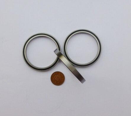 100 teile/los hochwertige dünnwandige lager 6701-2RS 6701RS gummi abgedichtet ultradünne rillenkugellager 12*18*4mm