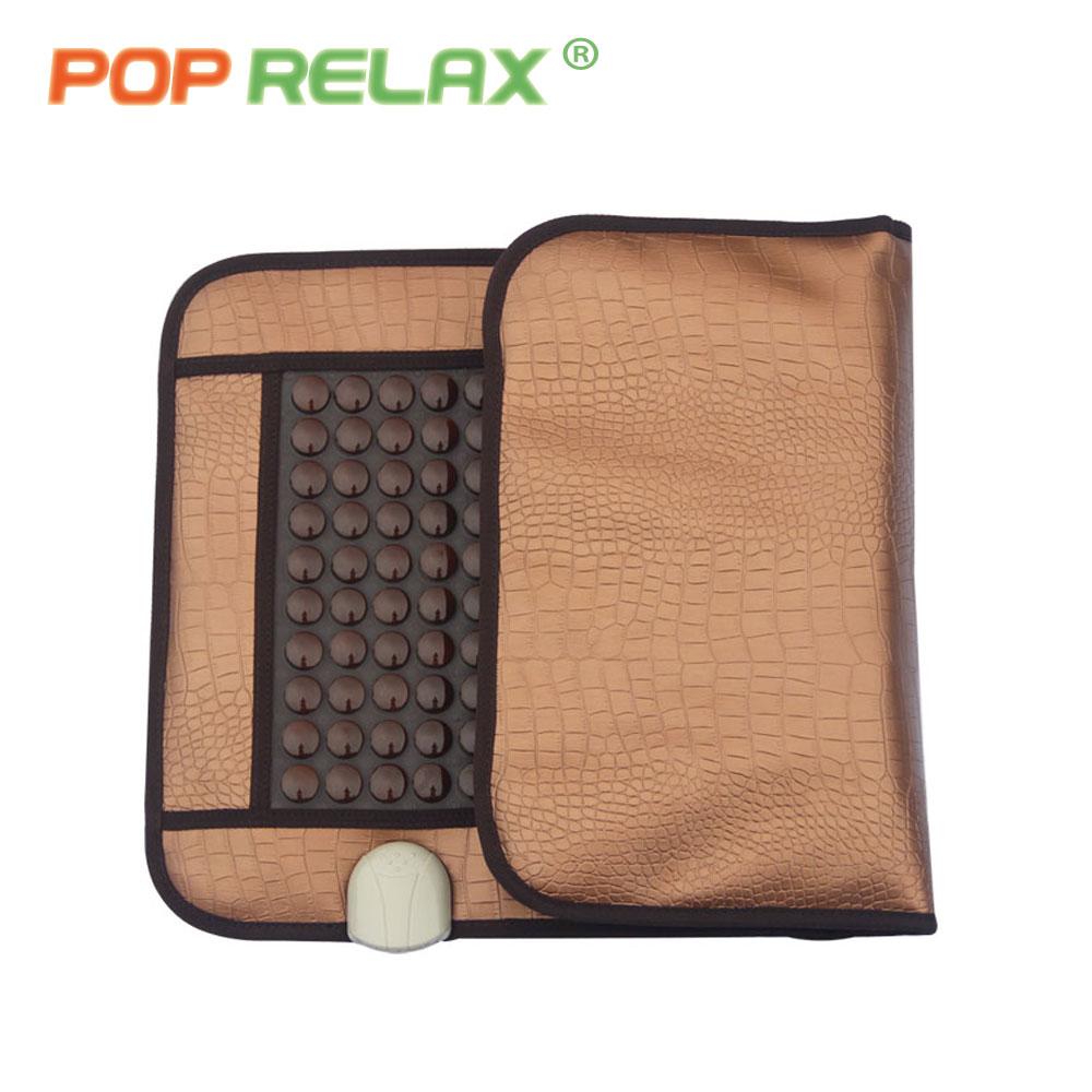 Массажный матрас POP расслабляющий, медицинский, корейский, Германия, турмалин, Нефритовый матрас, электронагрев, терапия, подушка, nuga best CERAGEM