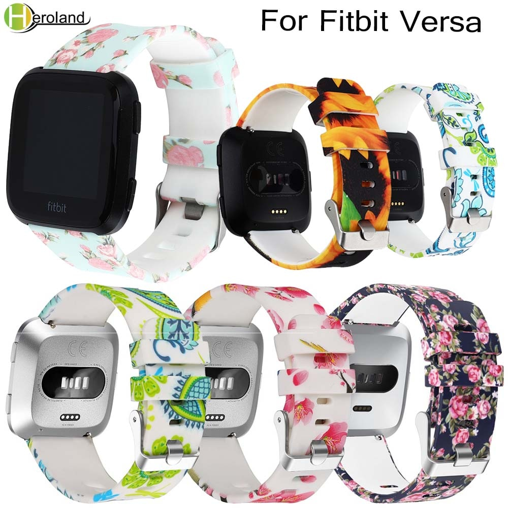2018 Watch band New Fashion Smart Wrist Watch Strap For Fitbit Versa Wristband Wrist Strap Smart Watch Band Bracelet Wrist band new fashion watchband replacement metal alloy watch strap for fitbit blaze smart watch band with case luxury bracelet wristband