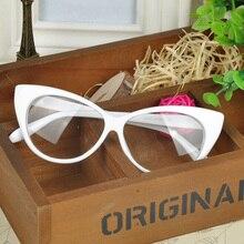 Monture oculaire simple lunettes œil de chat   Spectacle, lunettes œil style léopard, monture de lunettes de marque pour femmes, cadeau danniversaire 2019