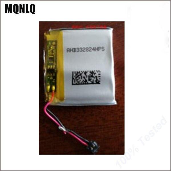 Lote de 10 unidades de batería de Cardio TomTom Spark + Reloj GPS para música AHB332824HPS de 3,7 V, nuevo de gran calidad