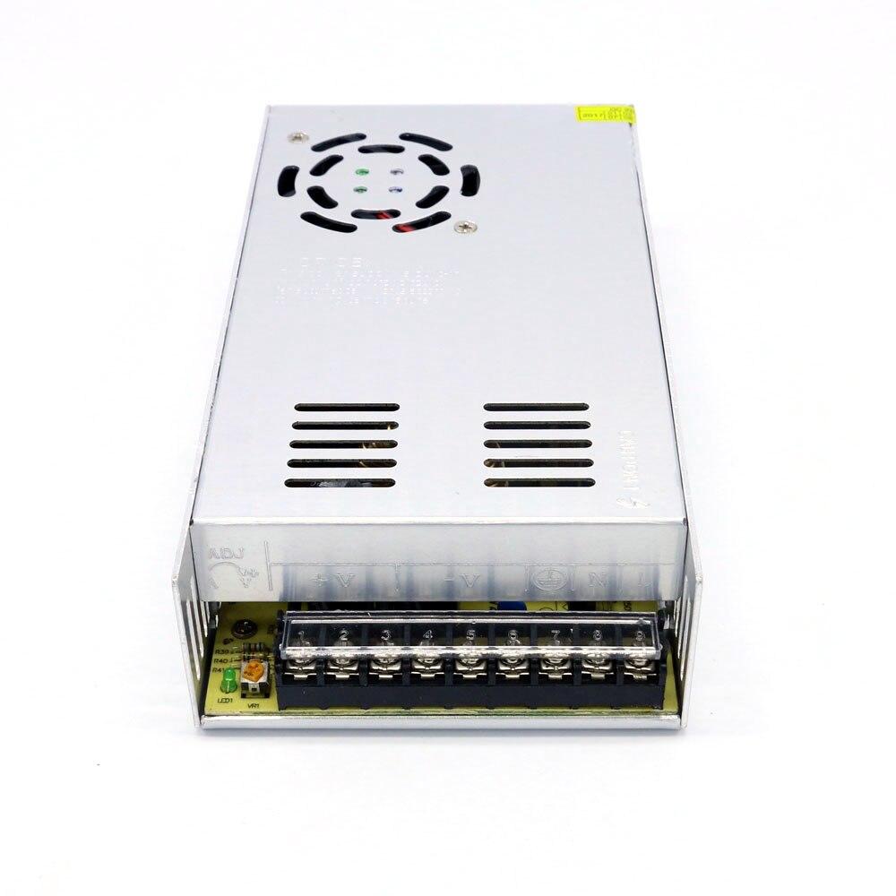 Fonte de alimentação led driver ac para dc 36 v 10a 360 w potência suficiente com caixa de metal